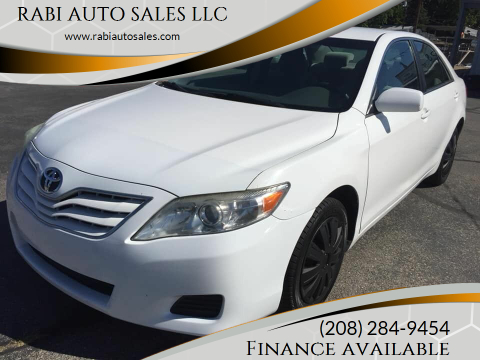 2011 Toyota Camry for sale at RABI AUTO SALES LLC in Garden City ID