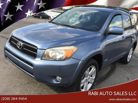 2008 Toyota RAV4 for sale at RABI AUTO SALES LLC in Garden City ID