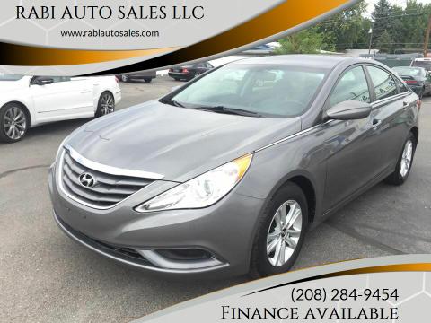 2011 Hyundai Sonata for sale at RABI AUTO SALES LLC in Garden City ID