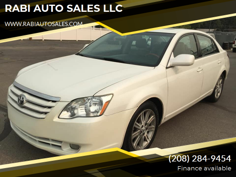 2006 Toyota Avalon for sale at RABI AUTO SALES LLC in Garden City ID