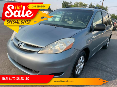 2007 Toyota Sienna for sale at RABI AUTO SALES LLC in Garden City ID