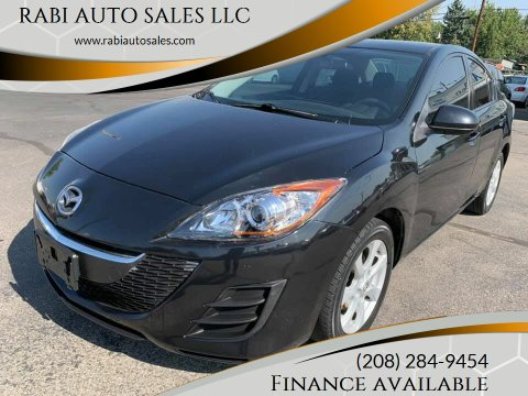 2010 Mazda MAZDA3 for sale at RABI AUTO SALES LLC in Garden City ID