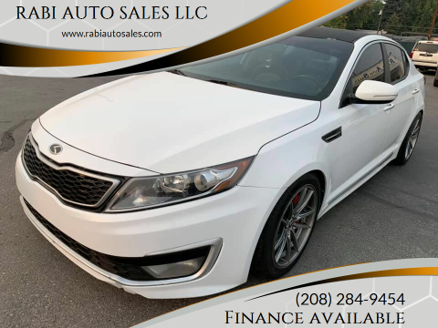2012 Kia Optima Hybrid for sale at RABI AUTO SALES LLC in Garden City ID