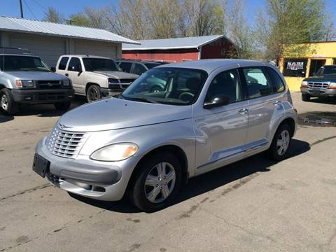 2002 Chrysler PT Cruiser for sale at RABI AUTO SALES LLC in Garden City ID