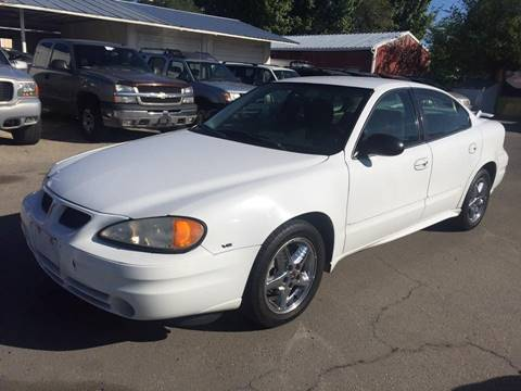 2004 Pontiac Grand Am SE1 for sale at RABI AUTO SALES LLC in Garden City ID