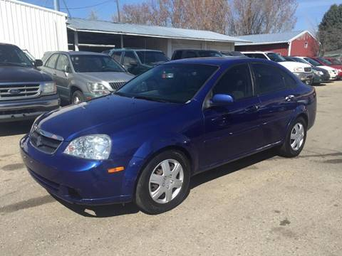 2007 Suzuki Forenza for sale at RABI AUTO SALES LLC in Garden City ID