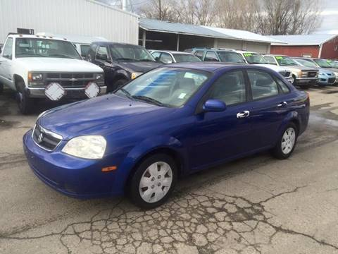 2006 Suzuki Forenza for sale at RABI AUTO SALES LLC in Garden City ID