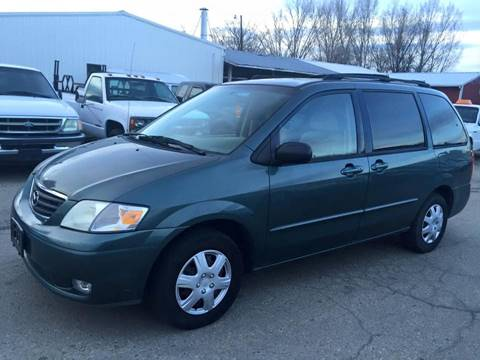 2001 Mazda MPV for sale at RABI AUTO SALES LLC in Garden City ID