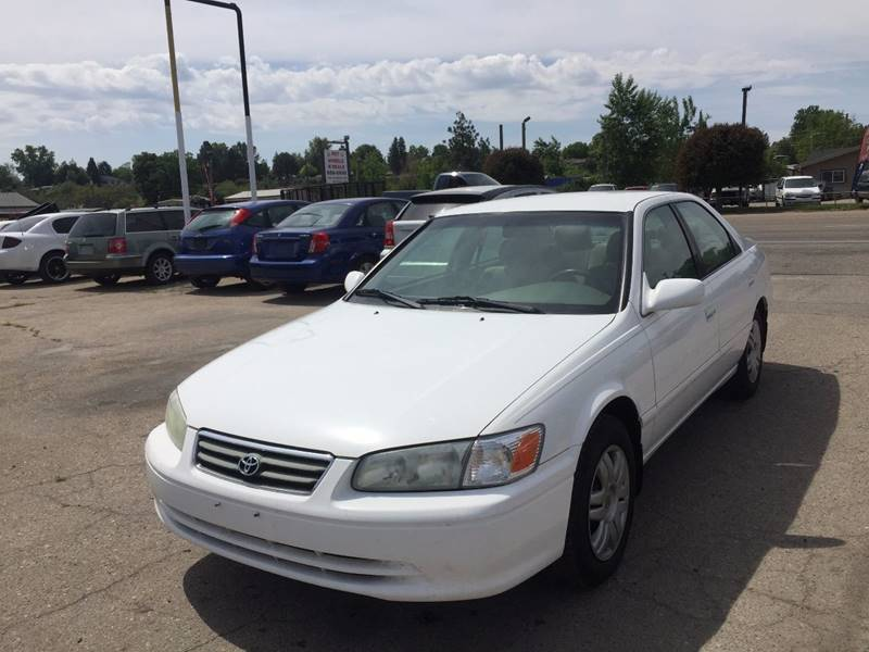 2001 Toyota Camry For Sale At RABI AUTO SALES LLC In Garden City ID