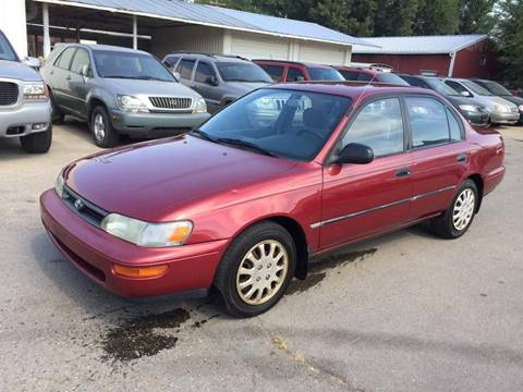 1995 Toyota Corolla for sale at RABI AUTO SALES LLC in Garden City ID