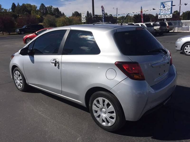 2015 Toyota Yaris 3Door L In Garden City ID RABI AUTO SALES LLC