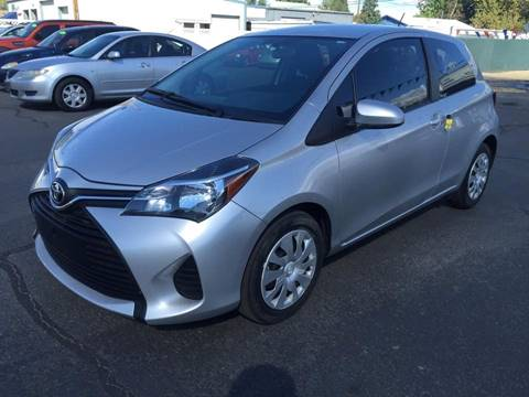 2015 Toyota Yaris for sale at RABI AUTO SALES LLC in Garden City ID