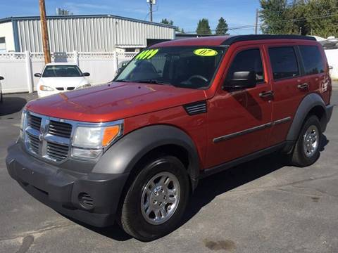 2007 Dodge Nitro for sale at RABI AUTO SALES LLC in Garden City ID