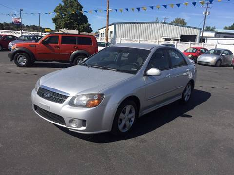 2009 Kia Spectra for sale at RABI AUTO SALES LLC-B Branch in Garden City ID