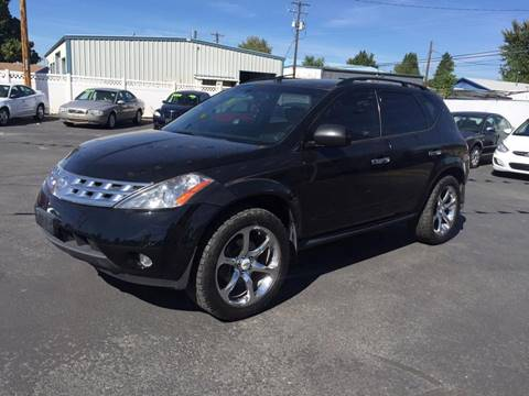 2004 Nissan Murano for sale at RABI AUTO SALES LLC-B Branch in Garden City ID