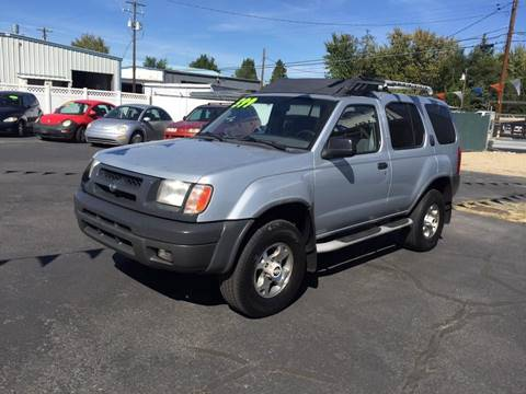 2000 Nissan Xterra for sale at RABI AUTO SALES LLC in Garden City ID