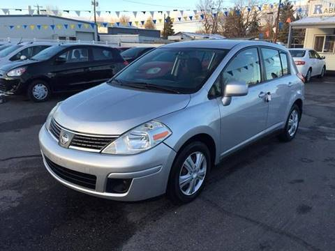 2009 Nissan Versa for sale at RABI AUTO SALES LLC in Garden City ID