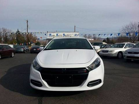2015 Dodge Dart for sale at RABI AUTO SALES LLC-B Branch in Garden City ID
