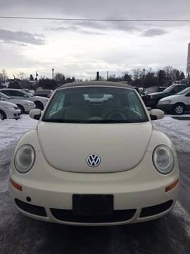 2006 Volkswagen New Beetle for sale at RABI AUTO SALES LLC in Garden City ID