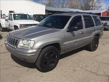 2002 Jeep Grand Cherokee Limited for sale at RABI AUTO SALES LLC in Garden City ID