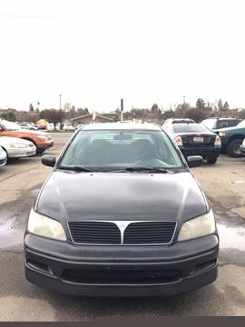 2002 Mitsubishi Lancer for sale at RABI AUTO SALES LLC in Garden City ID
