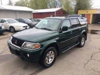 2000 Mitsubishi Montero Sport for sale at RABI AUTO SALES LLC in Garden City ID