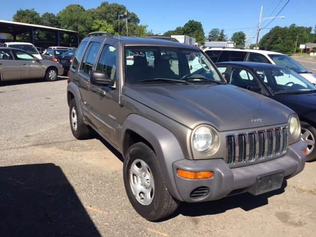 2004 Jeep Liberty 4dr Sport 4WD SUV - Gastonia NC