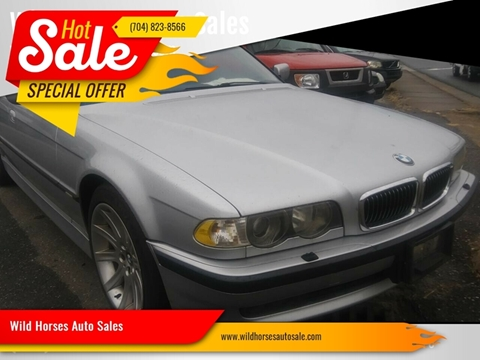 2001 BMW 7 Series for sale in Gastonia, NC