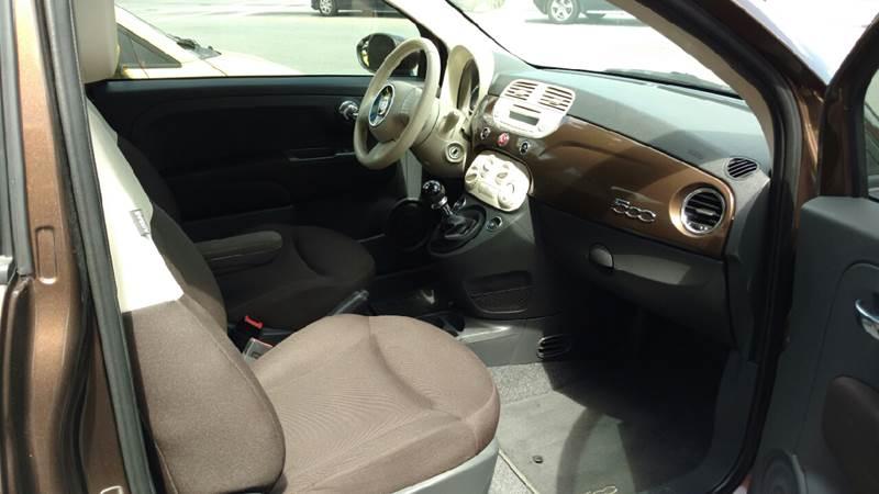 2013 FIAT 500 Pop 2dr Hatchback - Gastonia NC