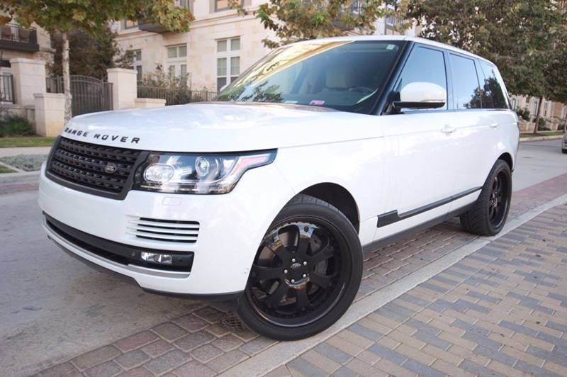 2013 Land Rover Range Rover In San Antonio, TX - Black and Silver ...
