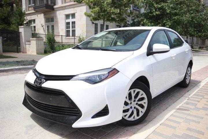 2017 Toyota Corolla LE In San Antonio TX  Black and Silver