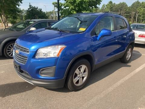 2015 Chevrolet Trax LT for sale at SOUTHERN PINES GM in Southern Pines NC