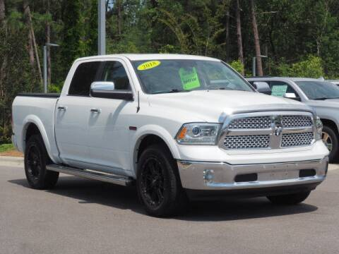 2018 RAM Ram Pickup 1500 Laramie for sale at SOUTHERN PINES GM in Southern Pines NC