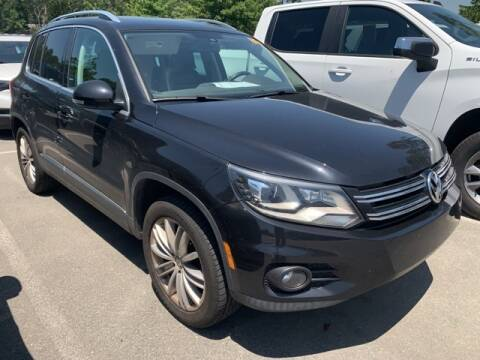 2016 Volkswagen Tiguan for sale at SOUTHERN PINES GM in Southern Pines NC