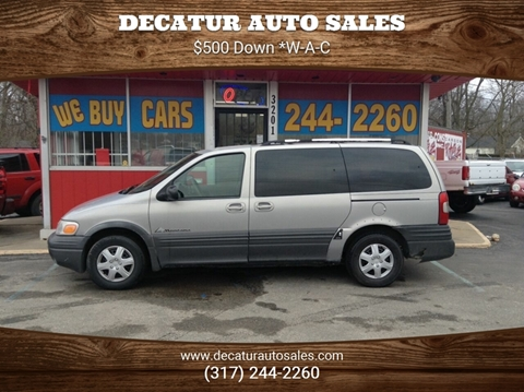 2000 Pontiac Montana for sale in Indianapolis, IN