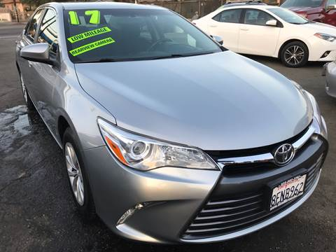 2017 Toyota Camry for sale at CAR GENERATION CENTER, INC. in Los Angeles CA