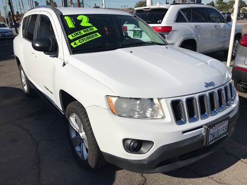 2012 Jeep Compass for sale at CAR GENERATION CENTER, INC. in Los Angeles CA