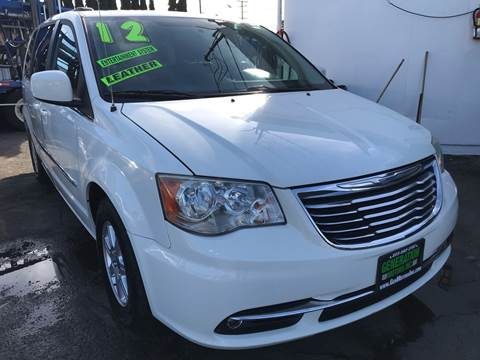 2012 Chrysler Town and Country for sale at CAR GENERATION CENTER, INC. in Los Angeles CA