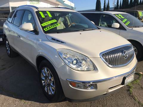 2011 Buick Enclave for sale at CAR GENERATION CENTER, INC. in Los Angeles CA