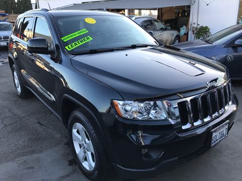 2013 Jeep Grand Cherokee for sale at CAR GENERATION CENTER, INC. in Los Angeles CA
