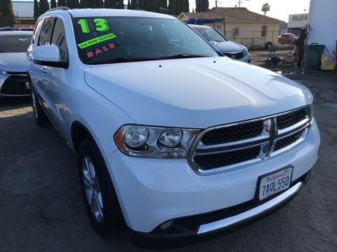 2013 Dodge Durango for sale at CAR GENERATION CENTER, INC. in Los Angeles CA