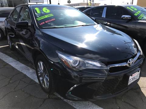 2016 Toyota Camry for sale at CAR GENERATION CENTER, INC. in Los Angeles CA