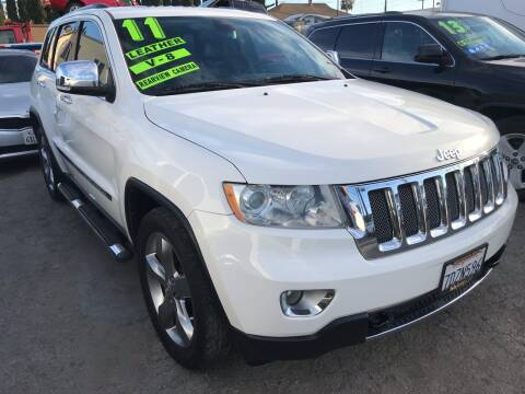2011 Jeep Grand Cherokee for sale at CAR GENERATION CENTER, INC. in Los Angeles CA