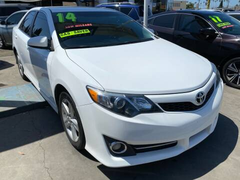 2014 Toyota Camry for sale at CAR GENERATION CENTER, INC. in Los Angeles CA