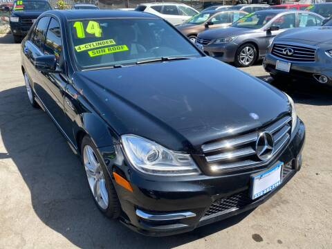 2014 Mercedes-Benz C-Class for sale at CAR GENERATION CENTER, INC. in Los Angeles CA