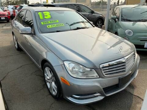 2013 Mercedes-Benz C-Class for sale at CAR GENERATION CENTER, INC. in Los Angeles CA