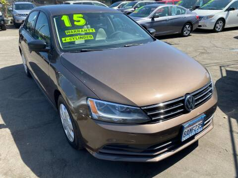 2015 Volkswagen Jetta for sale at CAR GENERATION CENTER, INC. in Los Angeles CA