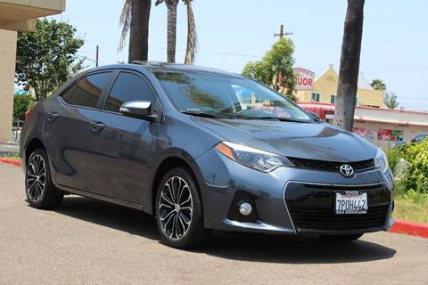 2015 Toyota Corolla for sale in San Diego, CA