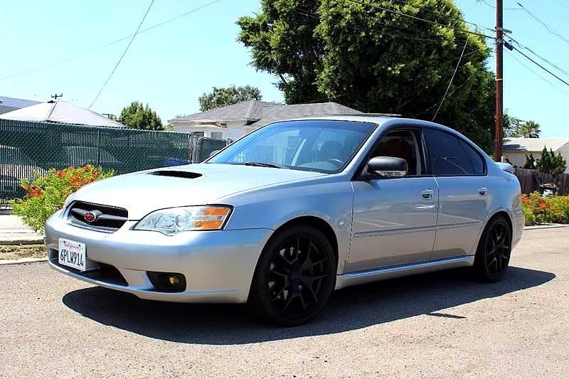 2006 Subaru Legacy Awd 25 Gt Specb 4dr Sedan In San Diego Ca
