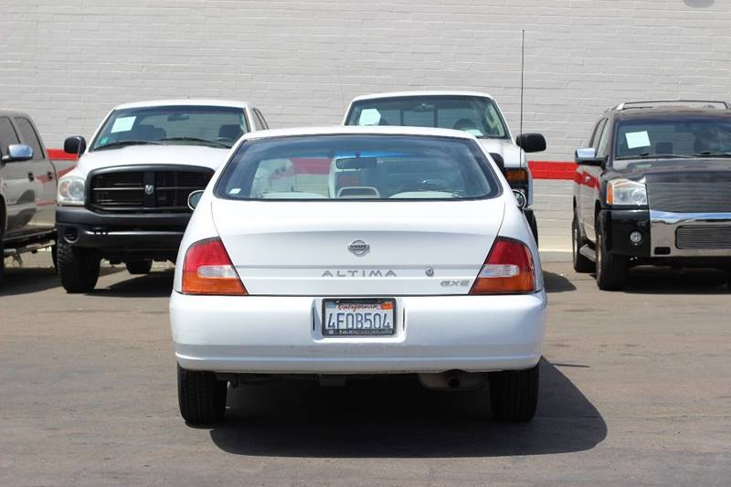 nissan 99 altima gxe